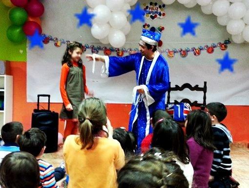 Animaciones infantiles en MAdrid a domicilio