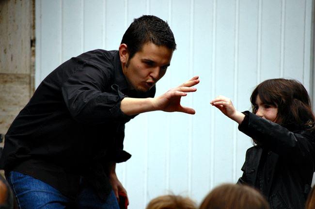 Animaciones infantiles en Madrid actuación de magia