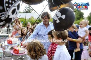 Decoración de cumpleaños a domicilio en Madrid