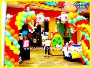 Decoración para cumpleaños infantil en Madrid