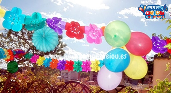 Decoración para fiestas infantiles en Madrid