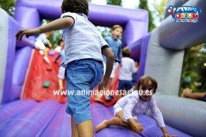 hinchables de fiestas infantiles en Madrid