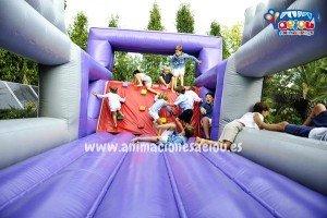 hinchables para fiestas infantiles Madrid