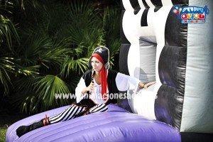 hinchables para fiestas infantiles en Madrid