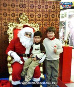 Contratar a Papá Noel a domicilio en Madrid