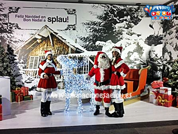 La navidad con Papá Noel a domicilio en Madrid