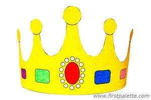 Manualidades de los reyes magos first palette