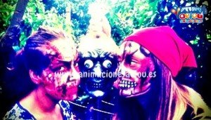 animadores fiestas halloween madrid