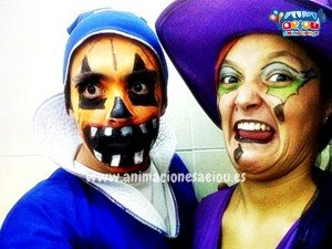animadores fiestas infantiles halloween