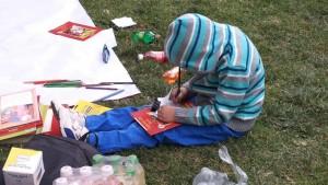 Colorear personajes para niños