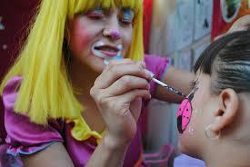Pintacaras o maquillaje para niños