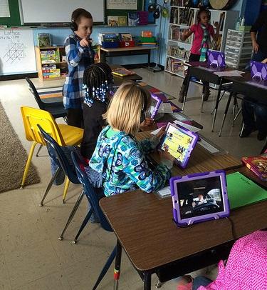 Los videos en inglés para niños en el colegio