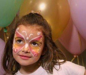 Maquillaje infantil y pintacaras de hada