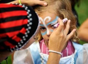 Maquillaje infantil y pintacaras para niños de hada