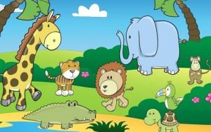 Juego de vocabulario en inglés para niños