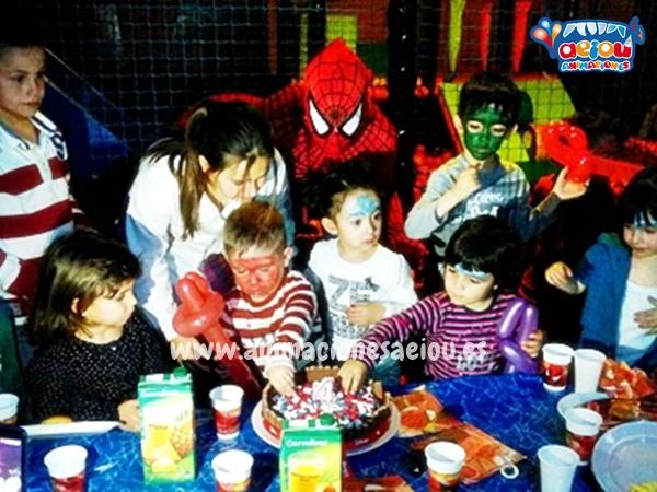 a domicilio animación cumpleaños infantiles