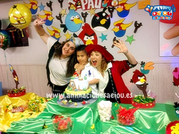 animación fiestas cumpleaños infantiles madrid