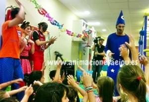 Espectáculo de magia para cumpleaños infantiles en Madrid