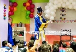 Espectáculo de magia para fiestas infantiles en Madrid