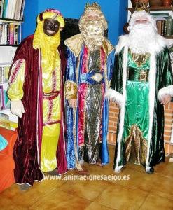 Contratar Reyes Magos en Madrid