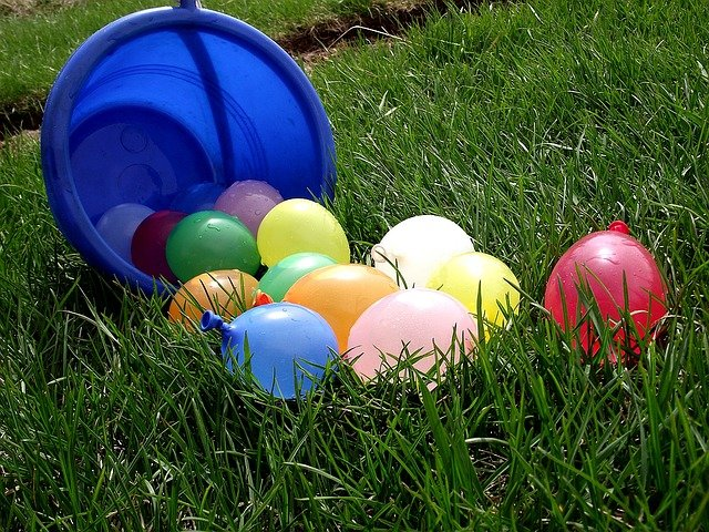 Juegos de agua para tu fiesta infantil