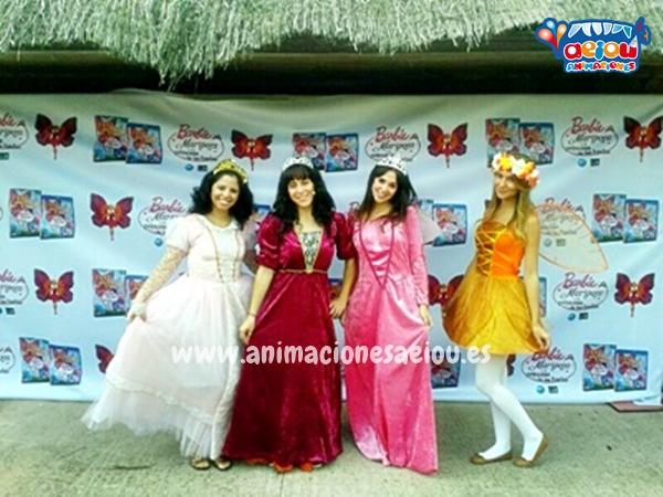Fiestas temáticas con princesas para cumpleaños en Madrid