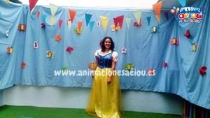 Fiestas temáticas de princesas en cumpleaños en Madrid