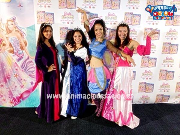 Fiestas temáticas de princesas para cumpleaños de Madrid