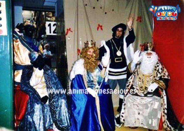 Contratar la visita del paje de los Reyes Magos