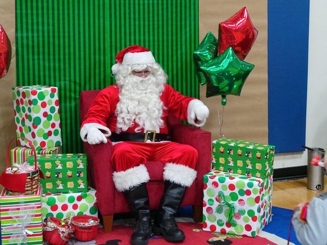 La historia de Papá Noel en navidad