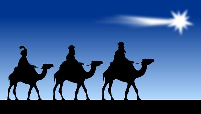 La historia de navidad y los Tres Reyes Magos