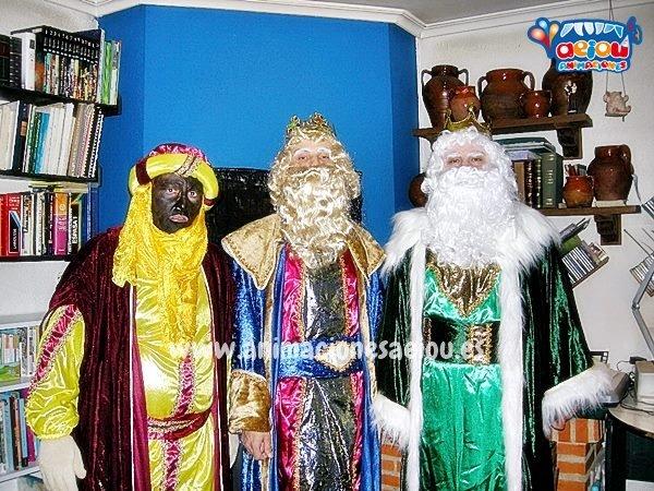 Los Reyes Magos para tu fiesta de Navidad en el Colegio