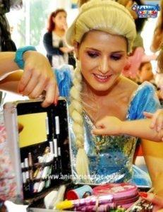 Fiesta Tematica Infantil Frozen en Madrid