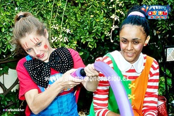 Contrata fiestas infantiles de carnaval en Madrid