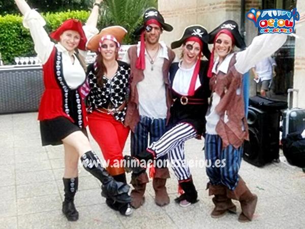 Estupendas fiestas piratas para niños en Madrid