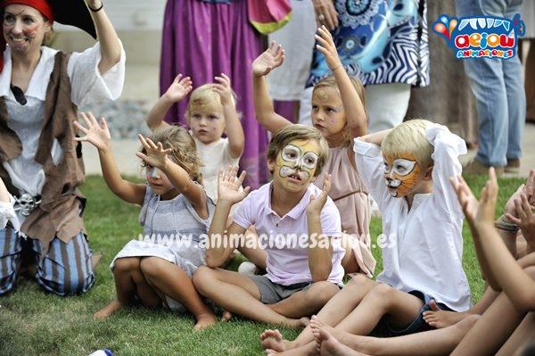 Juego para fiestas con niños de diferentes edades