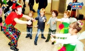 Payasos para fiestas infantiles en Rivas-Vaciamadrid