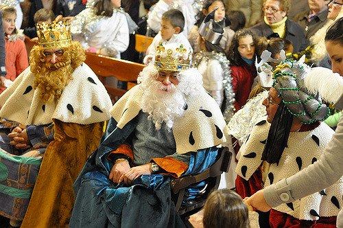 Cabalgata de SS. MM. los Reyes Magos, en El Saucejo. Martes 6 de Enero de 2010