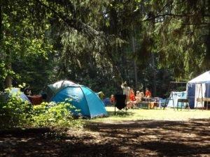 Los mejores campamentos de verano en Madrid-carpa