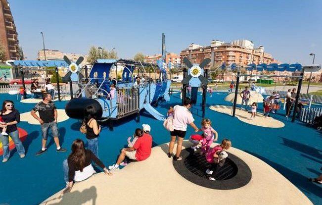 Parques para ir con niños en Madrid