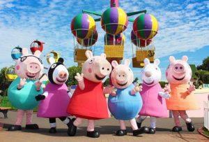 Animadores para fiestas temáticas de peppa pig en Madrid a domicilio-