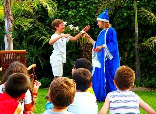 Magos para fiestas infantiles en Coslada