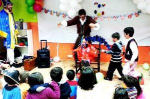 Payasos para fiestas infantiles en Alcalá de Henares