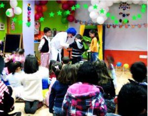 Payasos para fiestas infantiles en Collado Villalba