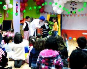 Animadores para fiestas infantiles en Hoyo de Manzanares