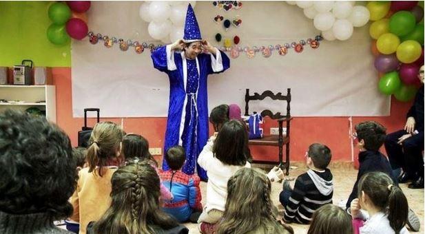 Magos para fiestas infantiles en Moralzarzal