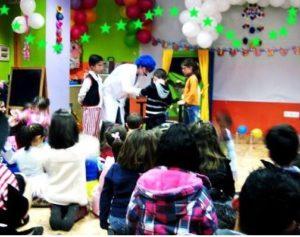 Payasos para fiestas infantiles en Cobeñas