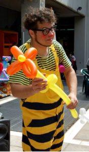 Payasos para fiestas infantiles en Fuente el Saz de Jarama