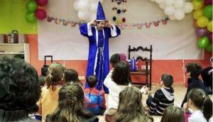 Magos para fiestas infantiles en San Ildefonso