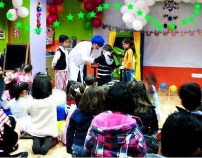 Magos para fiestas infantiles en Valdemorillo